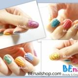 一口气示范十款夏日必备转印指甲彩绘教学!