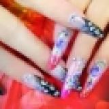 指甲艺术彩绘
