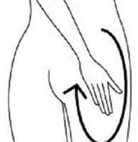 美臀纖腿按摩法階段二